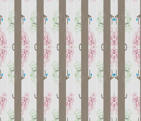 Nutcracker in Woods fabric by pilaralfaro on Spoonflower - custom fabric