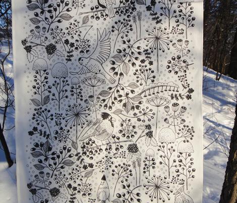 Lush Winter Garden
