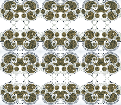 Samuri fabric by bunyipdesigns on Spoonflower - custom fabric