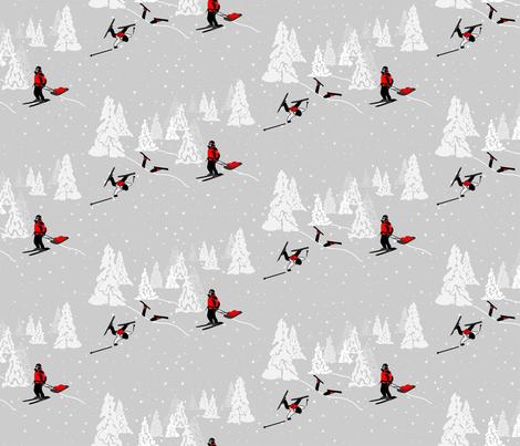 wintertoile fabric by subtlegracedesignstudio on Spoonflower - custom fabric