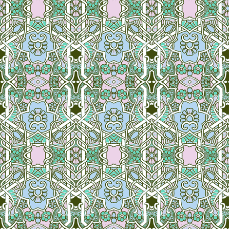 New Years Day 1915 fabric by edsel2084 on Spoonflower - custom fabric