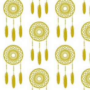 Mustard Dream Catcher