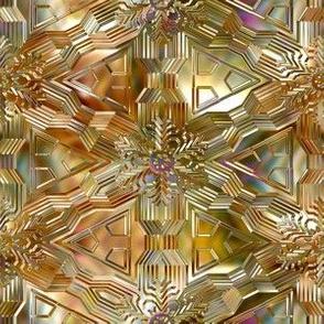 Glisten in bronze