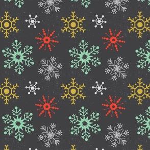 Winter Snowflakes (Multi)