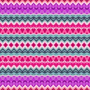 Princess Pink Tribal Pattern