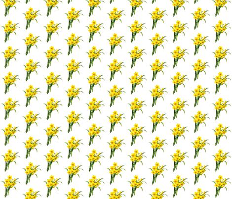 Narcissus fabric by grangerartondemand_com on Spoonflower - custom fabric