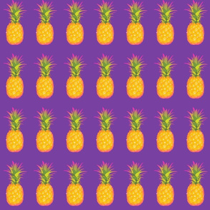 Pineapple On Purple