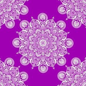 fortune mandala purple #9f00b2