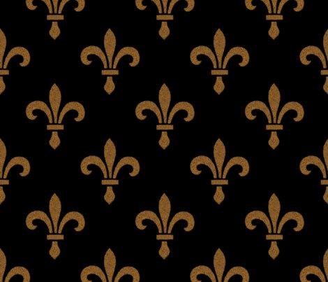 R14_century_fleur_de_lys___gold_and_black___peacoquette_designs___copyright_2014_shop_preview