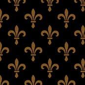 R14_century_fleur_de_lys___gold_and_black___peacoquette_designs___copyright_2014_shop_thumb