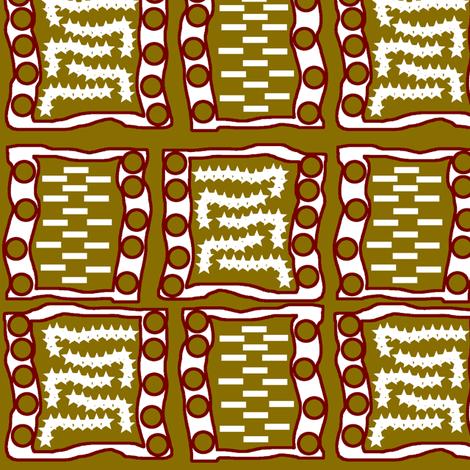Garden path fabric by nalo_hopkinson on Spoonflower - custom fabric