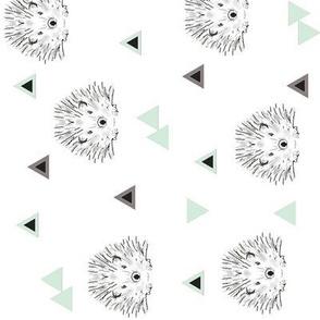 Hedgehog Mint (turned)