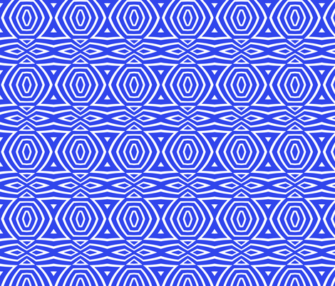 Blue #2 fabric by ornaart on Spoonflower - custom fabric