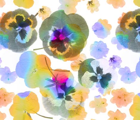 Flowering fabric by ornaart on Spoonflower - custom fabric