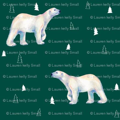 Polar Bear Evergreen