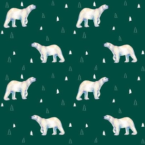 Polar Bear Evergreen