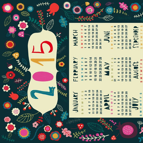 underwood 2015 tea towel calendar