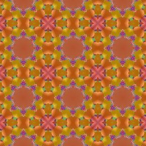 Peach and Mango Fractal