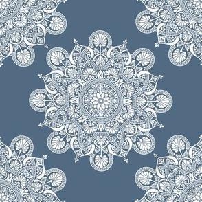 fortune mandala superior blue #526a81