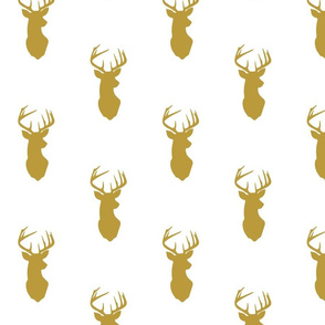 gold buck // Woodland Collection