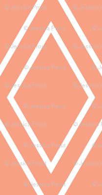 diamonds // coral