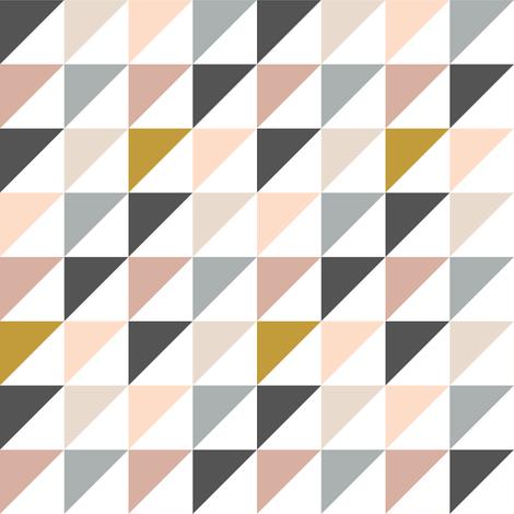 triangles // dreamweaver fabric by littlearrowdesign on Spoonflower - custom fabric