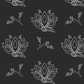 peacockflower_big_white_on_black