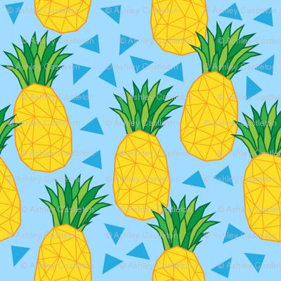 geometric pineapples