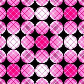 Plaids & Circles 01