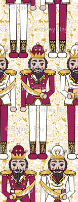 Nutcracker Prince Red and Gold