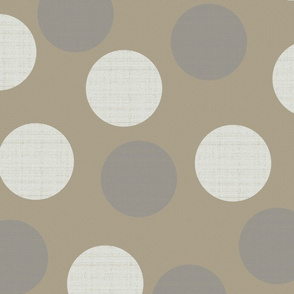 Phi Dots on Sandstone Beige