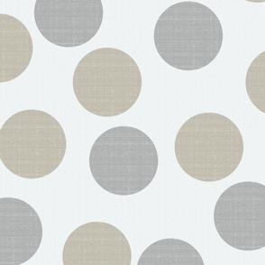 Phi Dots on Sandstone White