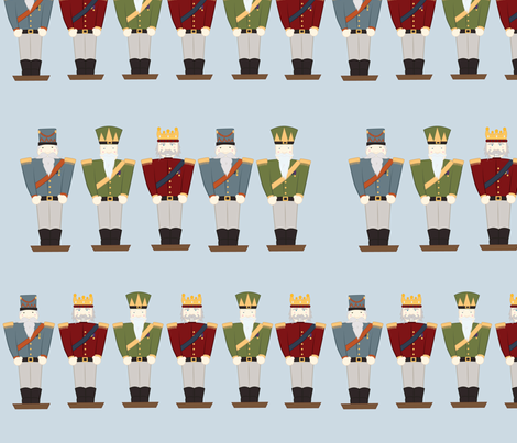 Nutcracker fabric by svaeth on Spoonflower - custom fabric
