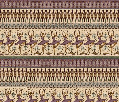 nutcracker_print fabric by coloredbycass on Spoonflower - custom fabric