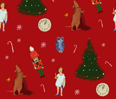 Nutcracker fabric by super_nora on Spoonflower - custom fabric
