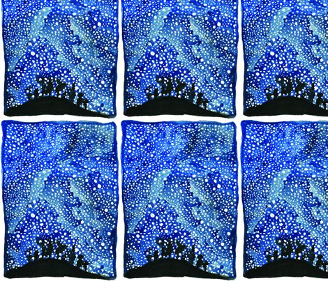 Night sky fabric bekyy93 spoonflower for Night sky print fabric