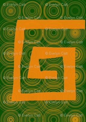 Block Curl Gold Green
