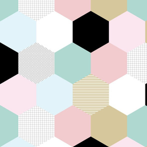 Modern Pastel // Wholecloth