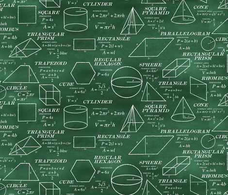 Geometry Crib Sheet fabric by saunterstyle on Spoonflower - custom fabric