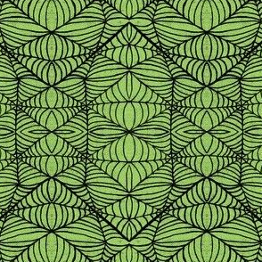 Webs, green-black