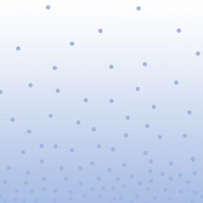 Ombré blue dots
