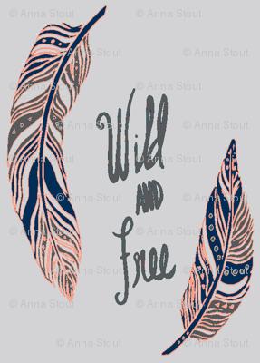 Wild & Free -Grey