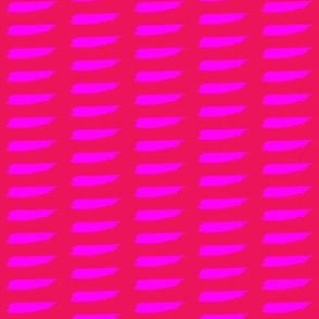 hot pink brush strokes