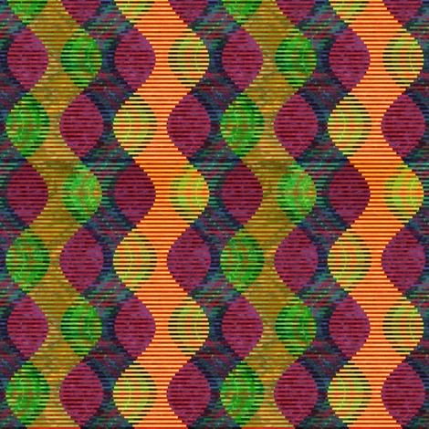 Tartan Tango small fabric by lorrietweet on Spoonflower - custom fabric