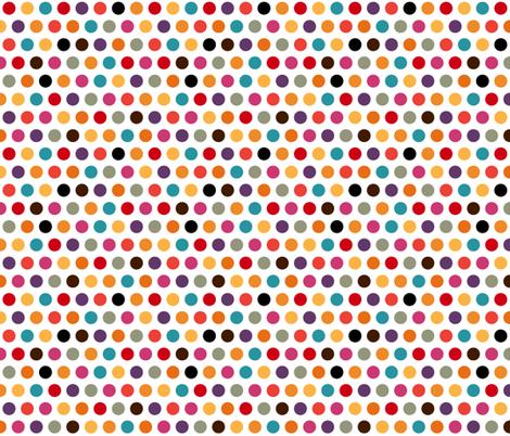 penguin polka fabric by scrummy on Spoonflower - custom fabric