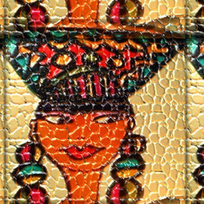 African Lady 2 Leather 2400X