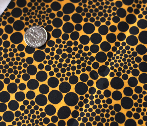KUSAMA – yellow and black