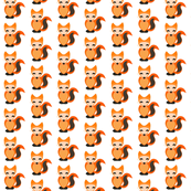 Tiled Fox Pattern