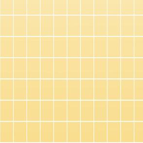 Ombré grid yellow