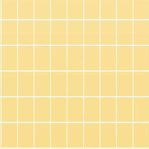 Ombré grid wallpaper yellow